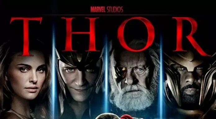 Poster phim Thor 2011 (nguồn: internet)