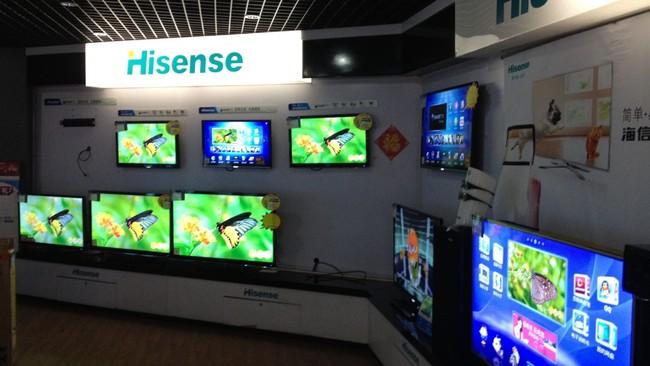 Televisores de Hisense