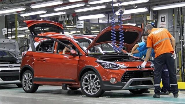 New I20 Active In Hyundai Assan Otomotiv Sanayi Plant Turkey 1
