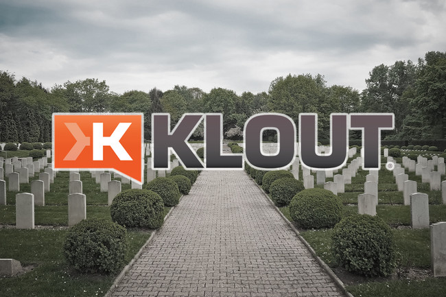 Klout Muere