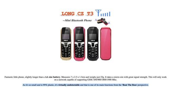 Anuncio Mini móvil