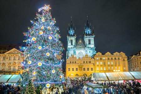 Praga Ciudades Europeas Con Mas Luces En Navidad