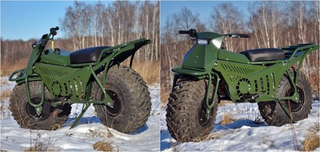 esta moto rusa de