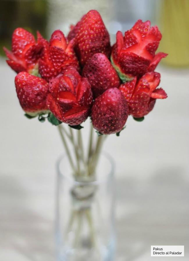 Flores Fresa