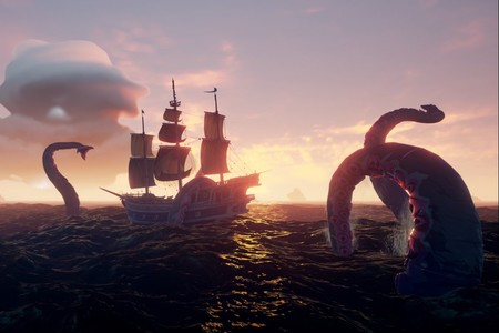 Sea Of Thieves Kraken How To Find The Kraken How To Defeat It Kraken Loot 5001 1522165261552