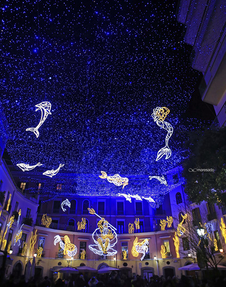 Salerno Ciudades Europeas Luces De Navidad