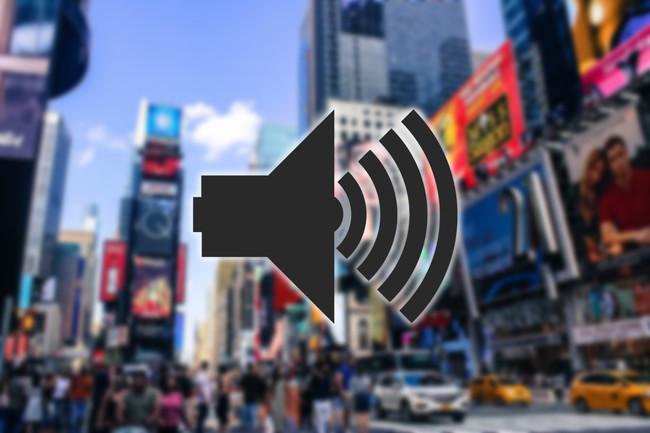 Times Square Soundscape