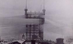 De cuando una monstruosa torre de telecomunicaciones y sus más de 4.000 cables tapaban el sol a los habitantes de Estocolmo