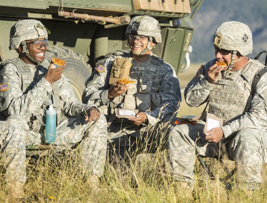 El ejército de Estados Unidos ha conseguido la pizza que aguanta 3 años