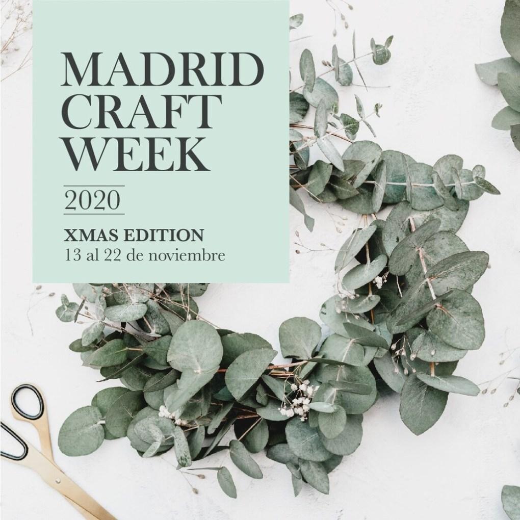 La artesanía y el diseño, protagonistas de la Madrid Craft Week especial Navidad