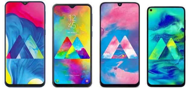 Samsung Galaxy℗ M10 vs Galaxy℗ M20 vs Galaxy℗ M30 vs Galaxy℗ M40: estas son sus diferencias