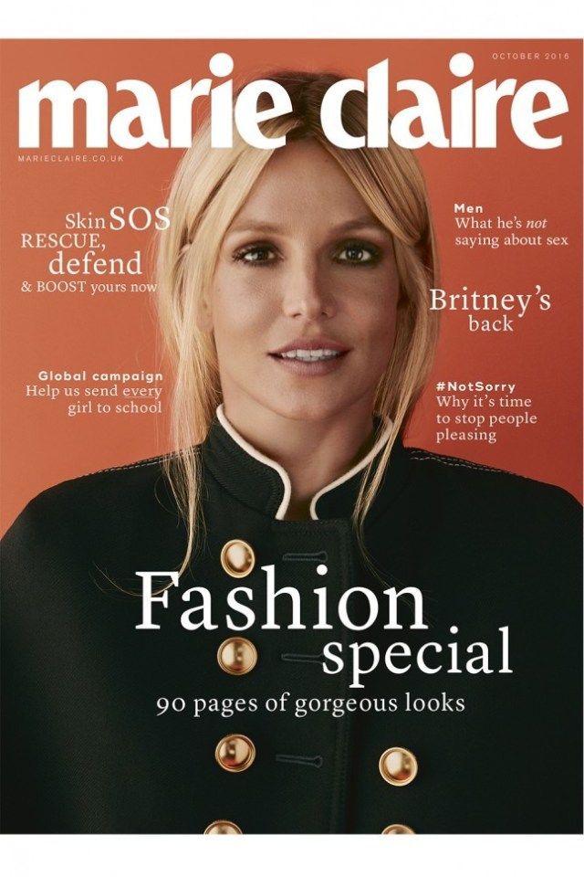 Marie Claire UK: Britney Spears