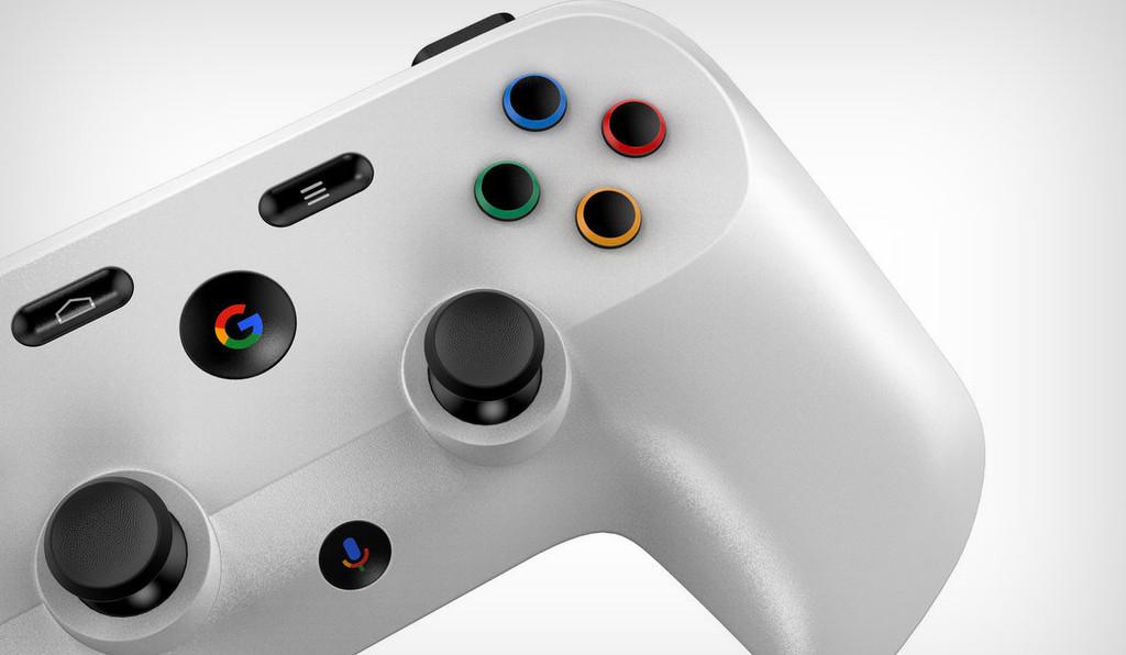 Así sería el mando de la consola de Google: muestra un render inspirado en la patente