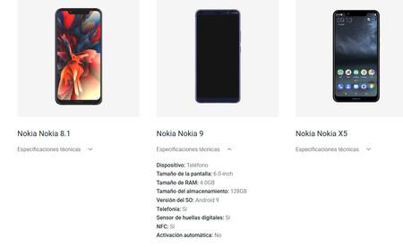 Nokia nueve Android