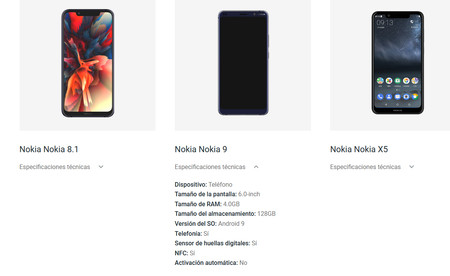 Nokia 9(nueve) Android