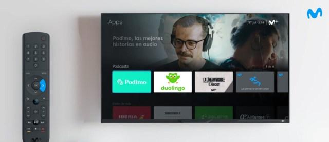 Movistar+ estrena plataforma de podcasts y videopodcasts con contenido propio y de terceros