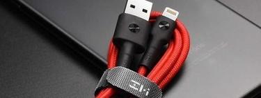 12 cables Lightning certificados MFi, para iPhone y iPad, que puedes comprar más baratos que en la tienda oficial