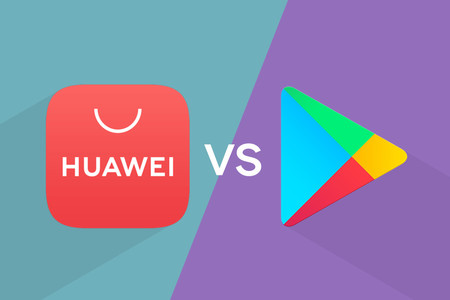 This is how it is to use a pre-veto Huawei mobile with Google Play and App Gallery fighting each other