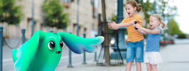 Nueve apps y games de realidad aumentada para divertirte con los niños en iOS℗ y Android