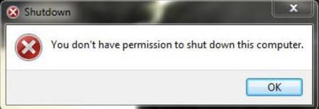 Error de Windows 7