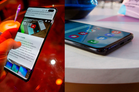 Samsung Galaxy S10 S20 Pantallas