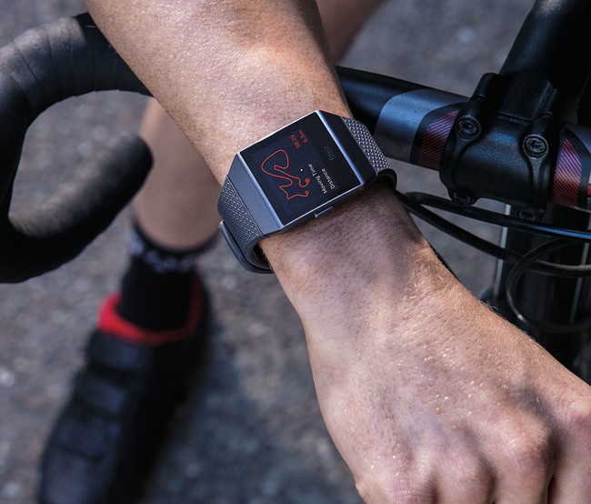 Fitbit Ionic Bike