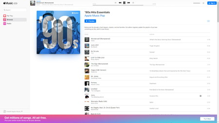 Apple Music Reproductor