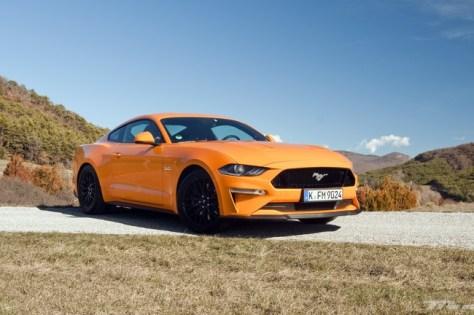 Ford Mustang 2018, prueba contacto