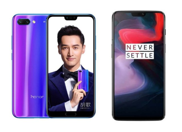 Honor 10 vs Oneplus 6