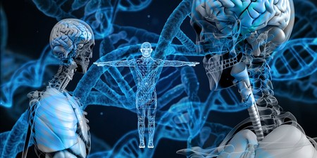 Helix Biology Genetic Material Dna Proteins 3598439