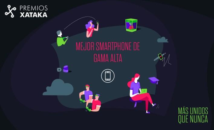 Mejor smartphone de gama alta: vota en los Premios Xataka 2020