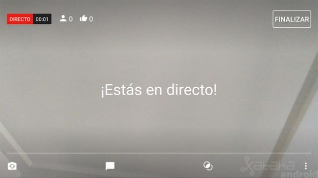 Emitir Directo Youtube Android