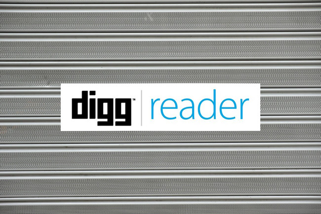 Digg Reader Alternativas Cierre