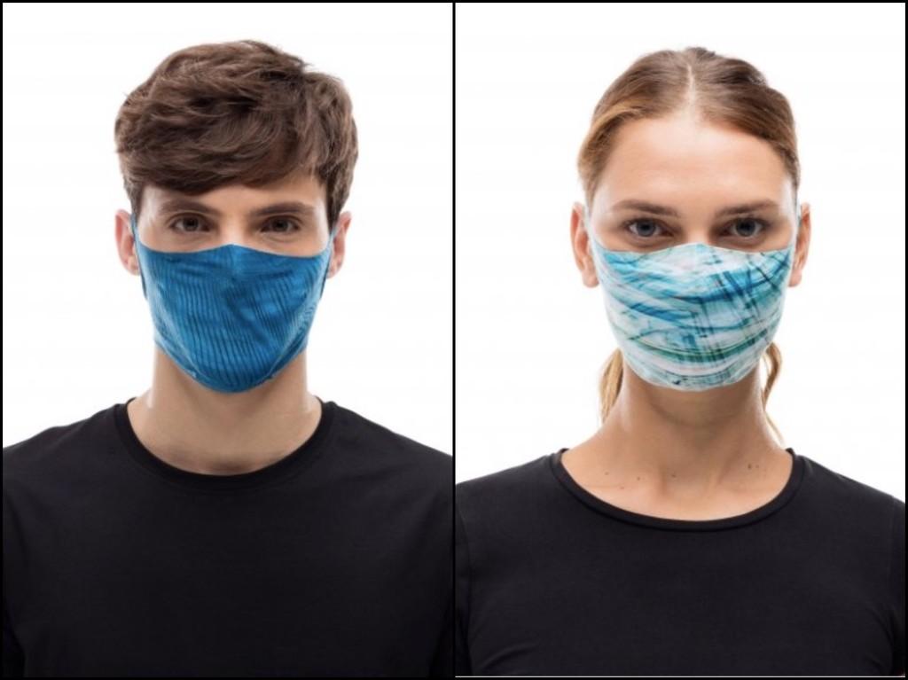 Buff lanza su línea de mascarillas deportivas y para el día a día: son lavables, reutilizables y llevan filtros intercambiables