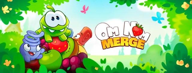 El personaje de Cut The Rope regresa con un juego de puzles y fusión, Om Nom: Merge
