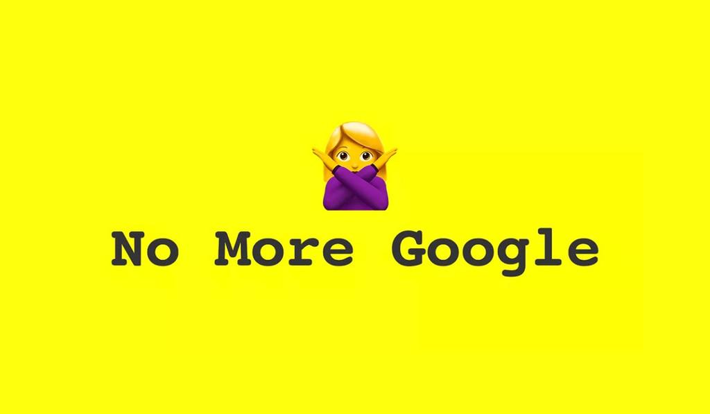 'No More Google': alternativas para los que no quieren utilizar los servicios de la compañía