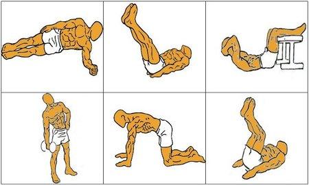 Resultado de imagen para variedad de abdominales