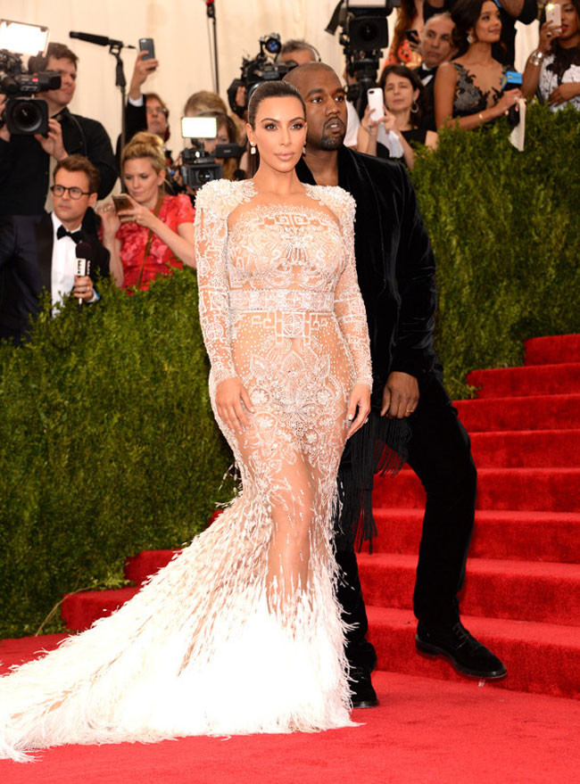 Kim Kardashian Gala Met 2015