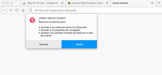Aadir Extension De Chrome A Firefox