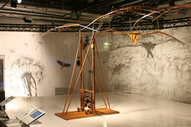 La mecánica del genio Leonardo da Vinci