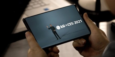LG Rollable: el móvil con pantalla enrollable se deja ver en vídeo