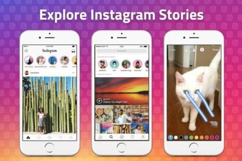 Explorar Instagram Stories