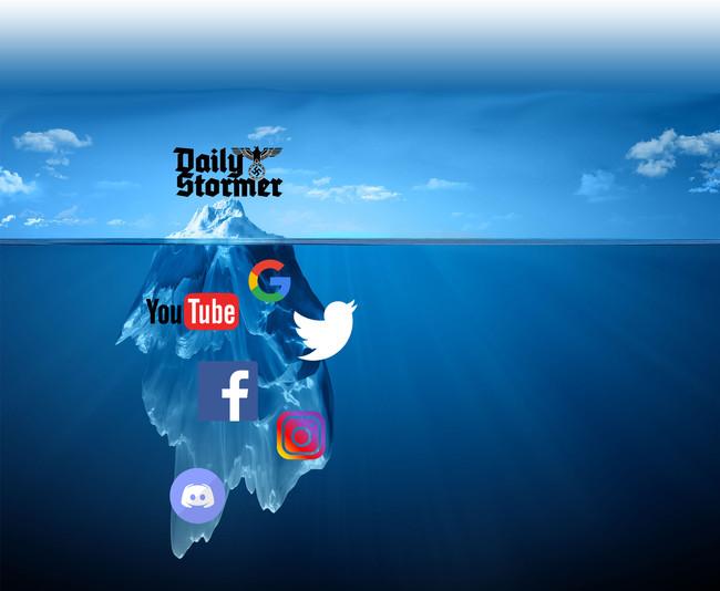 Iceberg Redes Supremacismo