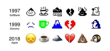 Emojipedia Softbank Docomo Apple 1997 1999 2018