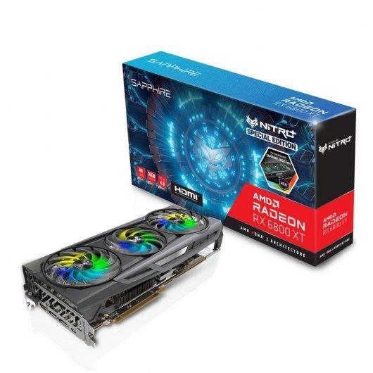Sapphire NITRO+ AMD Radeon RX 6800 XT OC SE Gaming 16GB GDDR6