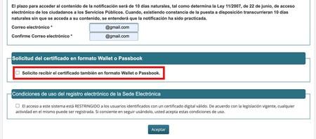 Certificado Covid Passbook Ministerio