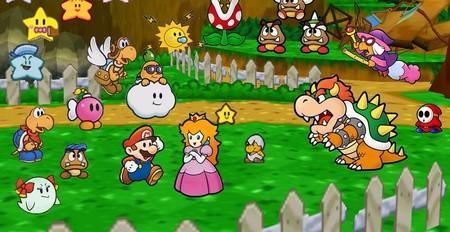 Paper Mario historia