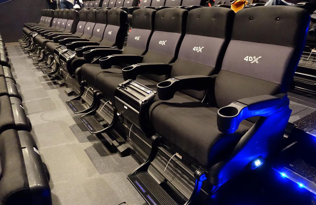Así es el cine 4DX: esta es la destreza que nos promete la sala con efectos sensoriales mas avanzada de Kinepolis