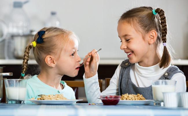 niñas-comida-frecuencia