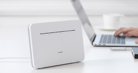 Two Huawei 4G routers very low on Amazon to connect to the internet and surf wherever you are